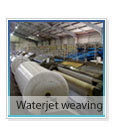 Waterjet-weaving